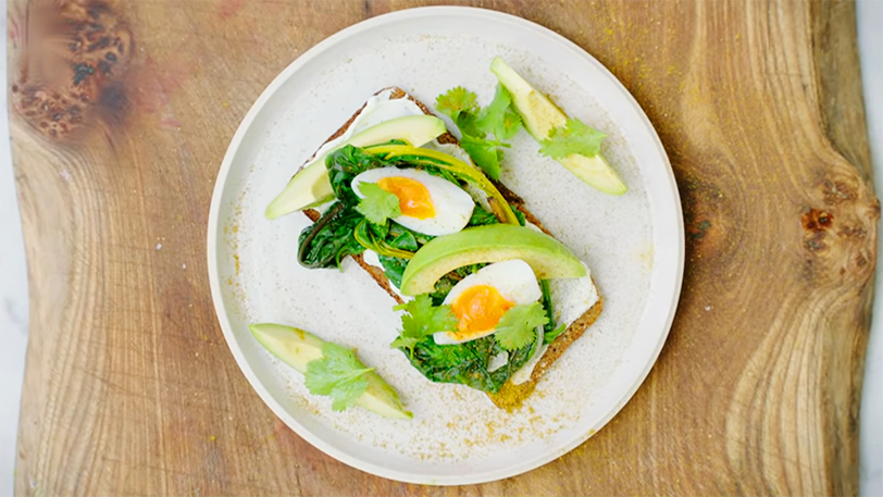 Avocado on Toast | Healthy Breakfast