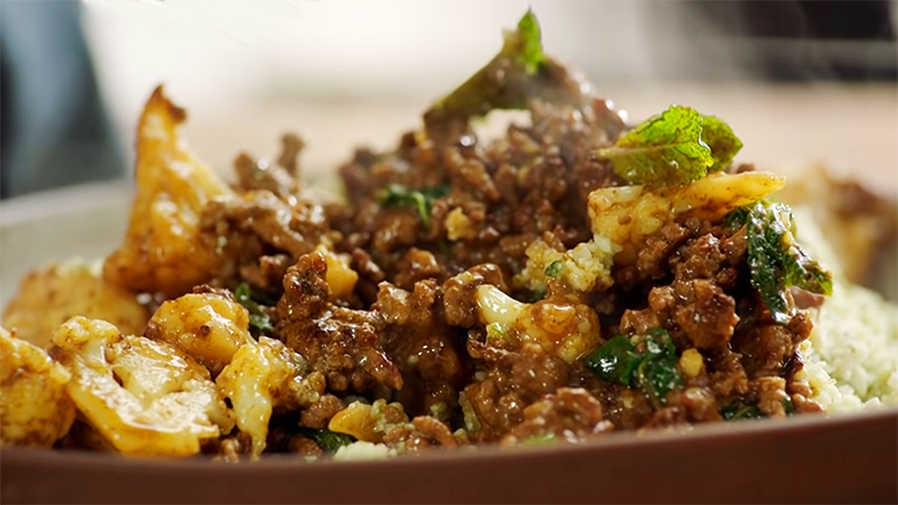 Spicy Beef Cauliflower