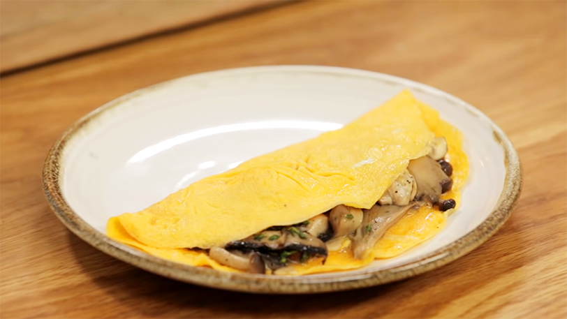 How to Make a Folded Omelette