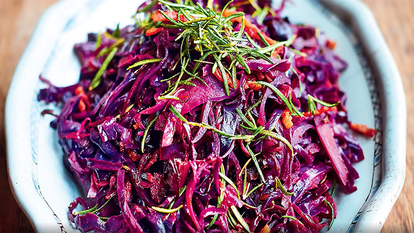 Christmas Recipe by Jamie Oliver | Sweet and Sour Red Cabbage